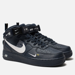 Мужские кроссовки Nike Air Force 1 Mid '07 LV8 Obsidian/White/Black/Tour Yellow фото- 2