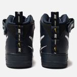 Мужские кроссовки Nike Air Force 1 Mid '07 LV8 Obsidian/White/Black/Tour Yellow фото- 3