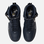 Мужские кроссовки Nike Air Force 1 Mid '07 LV8 Obsidian/White/Black/Tour Yellow фото- 5