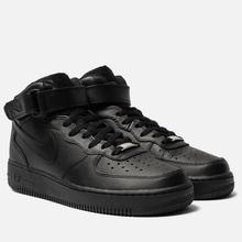 Мужские кроссовки Nike Air Force 1 Mid '07 Black фото- 0