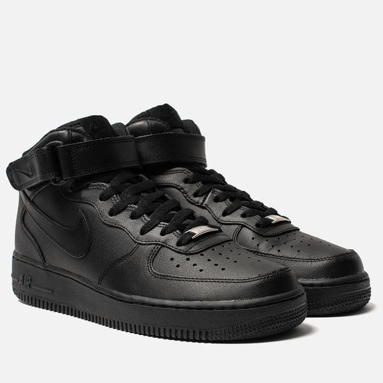 Мужские кроссовки Nike Air Force 1 Mid '07 Black