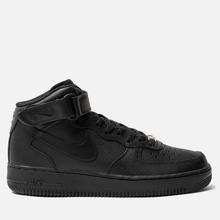 Мужские кроссовки Nike Air Force 1 Mid '07 Black фото- 3