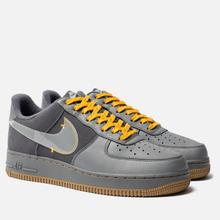 Мужские кроссовки Nike Air Force 1 Premium Cool Grey/Pure Platinum/Dark Grey фото- 2