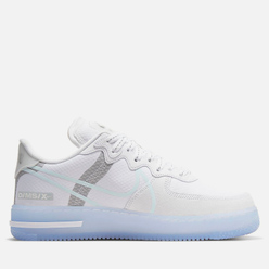 Мужские кроссовки Nike Air Force 1 React QS White/Light Bone/Sail/Rush Coral