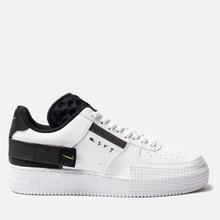 Кроссовки Nike Air Force 1 Type White/Volt/Black/White фото- 0