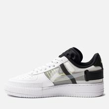 Кроссовки Nike Air Force 1 Type White/Volt/Black/White фото- 1