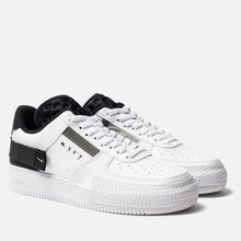 Кроссовки Nike Air Force 1 Type White/Volt/Black/White фото- 2