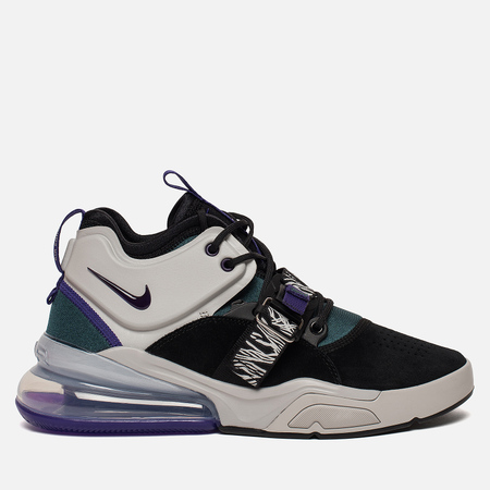 Мужские кроссовки Nike Air Force 270 Black/Court Purple/Dark Atomic Teal