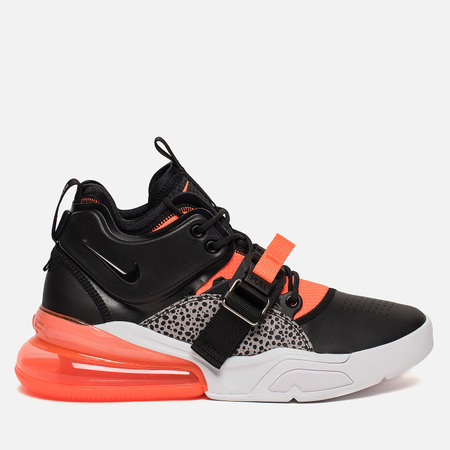 Мужские кроссовки Nike Air Force 270 Black/Hyper Crimson/Wolf Grey/White