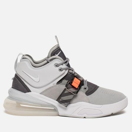 Мужские кроссовки Nike Air Force 270 Wolf Grey/White/Dark Grey/Sail