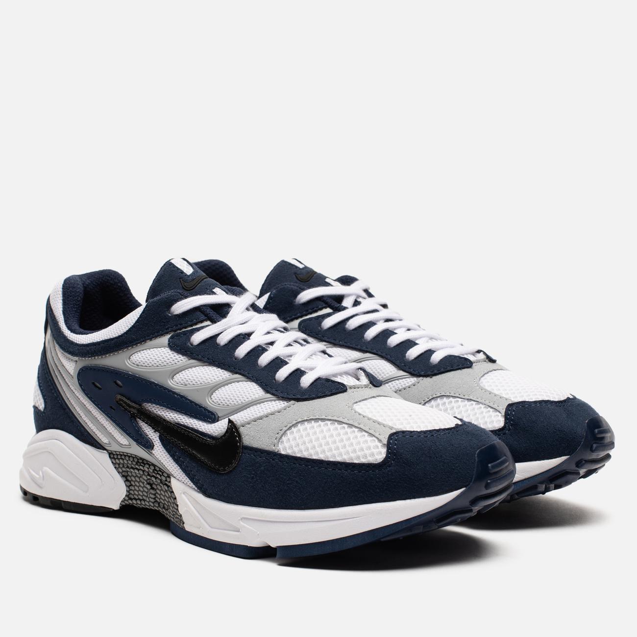 Мужские кроссовки Nike Air Ghost Racer Midnight Navy/Black/Wolf Grey/White