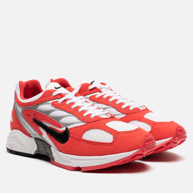 Мужские кроссовки Nike Air Ghost Racer Track Red/Black/White/Metallic Silver