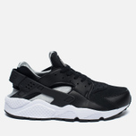 Nike Air Huarache Men's Sneakers Black/White/Silver photo- 0