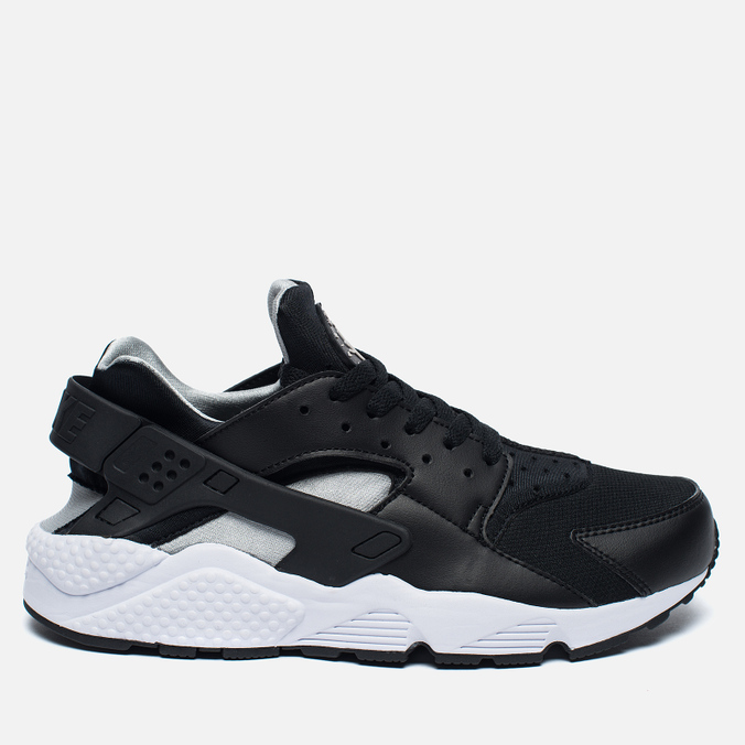Nike Air Huarache Men's Sneakers Black/White/Silver