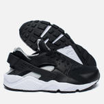 Nike Air Huarache Men's Sneakers Black/White/Silver photo- 1