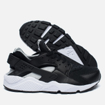 Мужские кроссовки Nike Air Huarache Black/White/Silver фото- 1
