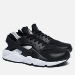 Мужские кроссовки Nike Air Huarache Black/White/Silver фото- 2