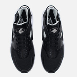 Nike Air Huarache Men's Sneakers Black/White/Silver photo- 4