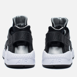 Nike Air Huarache Men's Sneakers Black/White/Silver photo- 5