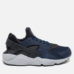 Мужские кроссовки Nike Air Huarache Midnight Navy/Dark Ash/Cool Grey/Wolf Grey фото- 0