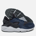 Мужские кроссовки Nike Air Huarache Midnight Navy/Dark Ash/Cool Grey/Wolf Grey фото- 2