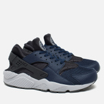 Мужские кроссовки Nike Air Huarache Midnight Navy/Dark Ash/Cool Grey/Wolf Grey фото- 1