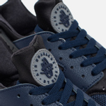 Мужские кроссовки Nike Air Huarache Midnight Navy/Dark Ash/Cool Grey/Wolf Grey фото- 5