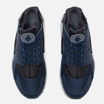Мужские кроссовки Nike Air Huarache Midnight Navy/Dark Ash/Cool Grey/Wolf Grey фото- 4