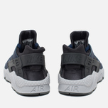 Мужские кроссовки Nike Air Huarache Midnight Navy/Dark Ash/Cool Grey/Wolf Grey фото- 3