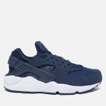 Мужские кроссовки Nike Air Huarache Midnight Navy/White фото- 0