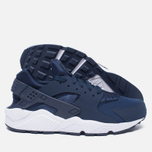 Мужские кроссовки Nike Air Huarache Midnight Navy/White фото- 2