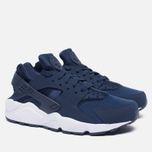 Мужские кроссовки Nike Air Huarache Midnight Navy/White фото- 1