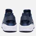 Мужские кроссовки Nike Air Huarache Midnight Navy/White фото- 3