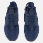Мужские кроссовки Nike Air Huarache Midnight Navy/White фото- 4