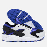Nike Air Huarache Men's Sneakers Persian Violet/Pure Platinum photo- 2