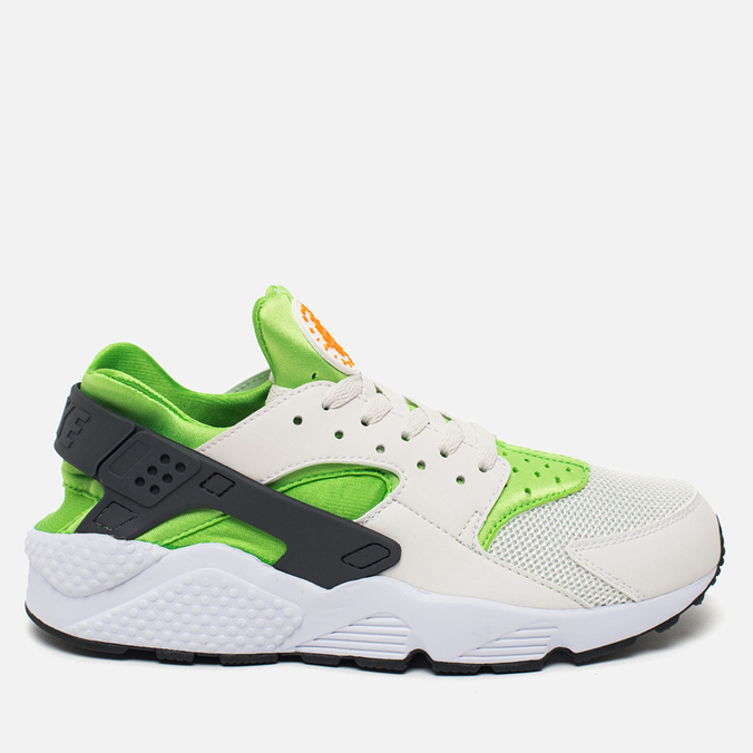 Мужские кроссовки Nike Air Huarache Run Action Green/Phantom White