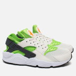 Мужские кроссовки Nike Air Huarache Run Action Green/Phantom White фото- 1