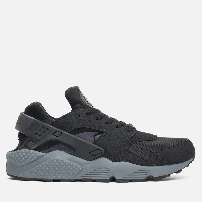 Мужские кроссовки Nike Air Huarache Run Black/Dark Grey