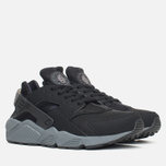 Мужские кроссовки Nike Air Huarache Run Black/Dark Grey фото- 1
