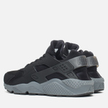 Мужские кроссовки Nike Air Huarache Run Black/Dark Grey фото- 2