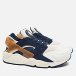 Мужские кроссовки Nike Air Huarache Run Premium Sail/Midnight Navy/Ale Brown фото- 1