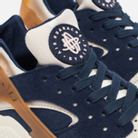 Мужские кроссовки Nike Air Huarache Run Premium Sail/Midnight Navy/Ale Brown фото- 3