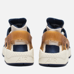 Мужские кроссовки Nike Air Huarache Run Premium Sail/Midnight Navy/Ale Brown фото- 5