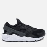 Мужские кроссовки Nike Air Huarache Run PRM Black/Dark Grey/White фото- 0