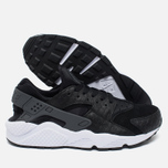 Мужские кроссовки Nike Air Huarache Run PRM Black/Dark Grey/White фото- 2