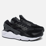 Мужские кроссовки Nike Air Huarache Run PRM Black/Dark Grey/White фото- 1
