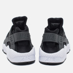Мужские кроссовки Nike Air Huarache Run PRM Black/Dark Grey/White фото- 5