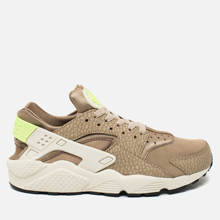 Nike Air Huarache Run PRM Men's Sneakers Desert Camo/Sea Glass/String/Ghost Green
