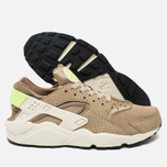 Мужские кроссовки Nike Air Huarache Run PRM Desert Camo/Sea Glass/String/Ghost Green фото- 2