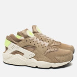 Мужские кроссовки Nike Air Huarache Run PRM Desert Camo/Sea Glass/String/Ghost Green фото- 1